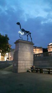 Horse Plinth Trafalgar Square 2016
