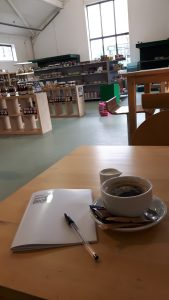Exciting writing in a cafe or at your regular desk.