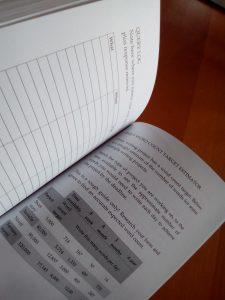 Writers Weekly Planner