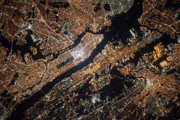 NASA - Manhattan from space