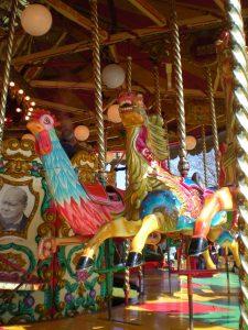 carousel, gallopers, circus, fairground