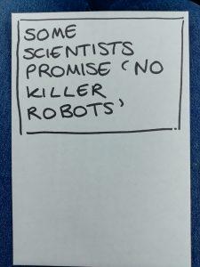No killer robots