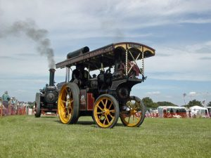 steam wagon, circus wagon