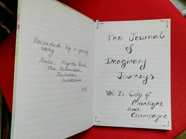 fictional travelogue
