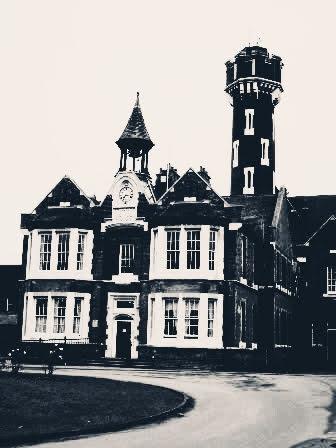 Stone Lodge Hospital Dartford antique photo