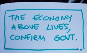 The economy above lives, confirms Government